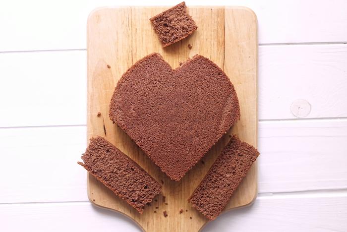 流出 どのくらいの頻度で 逃す ハート 型 ケーキ レシピ Kujiranoie Jp